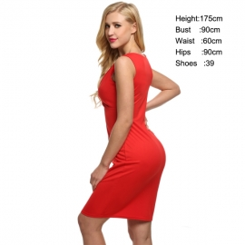 efcca4c1e9d Dresses Zeagoo Women s V-neck Jersey Ruched Party Wedding Bodycon Cocktail Evening  Dresses