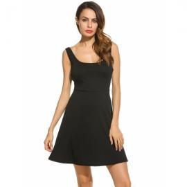 b0af9ef4e Women's High Waist Lightweight Floor Length Shirring Maxi Skirt With  Pockets. $21.45. Dresses Zeagoo Women's Casual Summer Sleeveless Swing Tank  Sundress